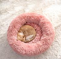 Пушистый лежак-матрас для собак и кошек 50 см спальные места для домашних животных.