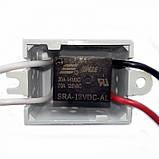 Реле 12 Вольт 20 Ампер SONGLE SRA-12VDC-AL для сенсорных выключателей для коммутации нагрузки, фото 2