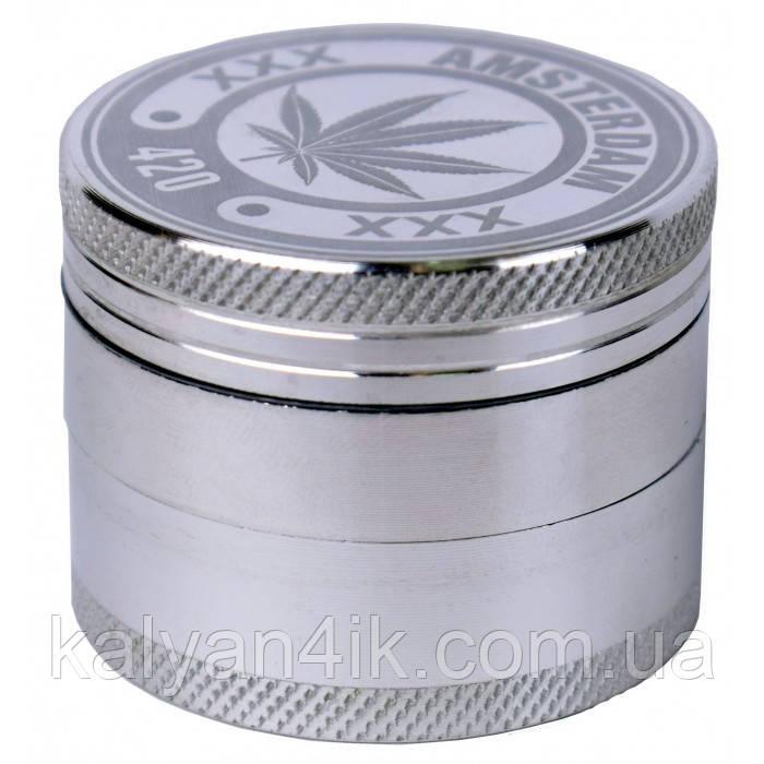 >Гріндер металевий Amsterdam 420 4part d:50mm