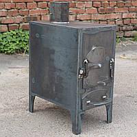"""Буржуйка малая на дровах """"Домовичек"""" для гаража, дачи, небольших помещений."""