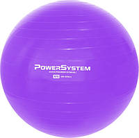 М'яч для фітнесу і гімнастики POWER SYSTEM PS-4018 85 cm Purple
