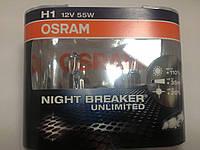 Osram H1 12v-55w Night Breaker +110% АКГ 12-55