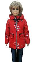 Куртка Вишенка 6-7 лет
