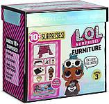 Комната Леди-Сплюшки Игровой набор Стильный интерьер с куклой LOL Furniture Sleepover L.O.L. Surprise! 570035, фото 5