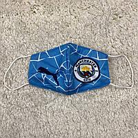 Маска Манчестер Сити голубая 20-21