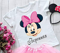 Футболка Minnie Mouse (Мінні Маус) Іменна / Футболка Minnie Mouse (Мінні Маус) Іменна