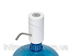 Помпа электрическая насос для бутыля воды Smart Pumping Unit K5, белая 5W, помпа для воды на батарейках (TI)