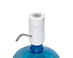Помпа электрическая насос для бутыля воды Smart Pumping Unit K5, белая 5W, помпа для воды на батарейках (ST)