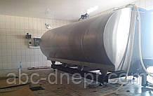 Бункерні ваги для танка-охолоджувача молока 12 тонн