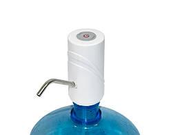 Помпа електрична насос для бутля води Smart Pumping Unit K5, біла 5W, помпа для води на батарейках