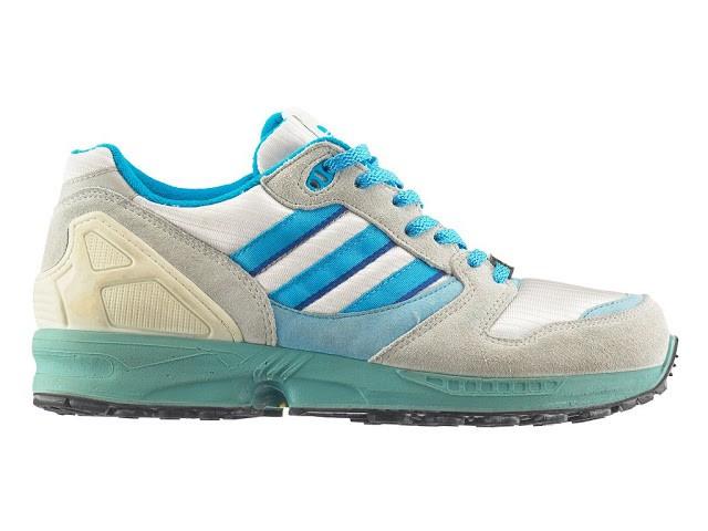 Выпуск кроссовок Adidas ZX