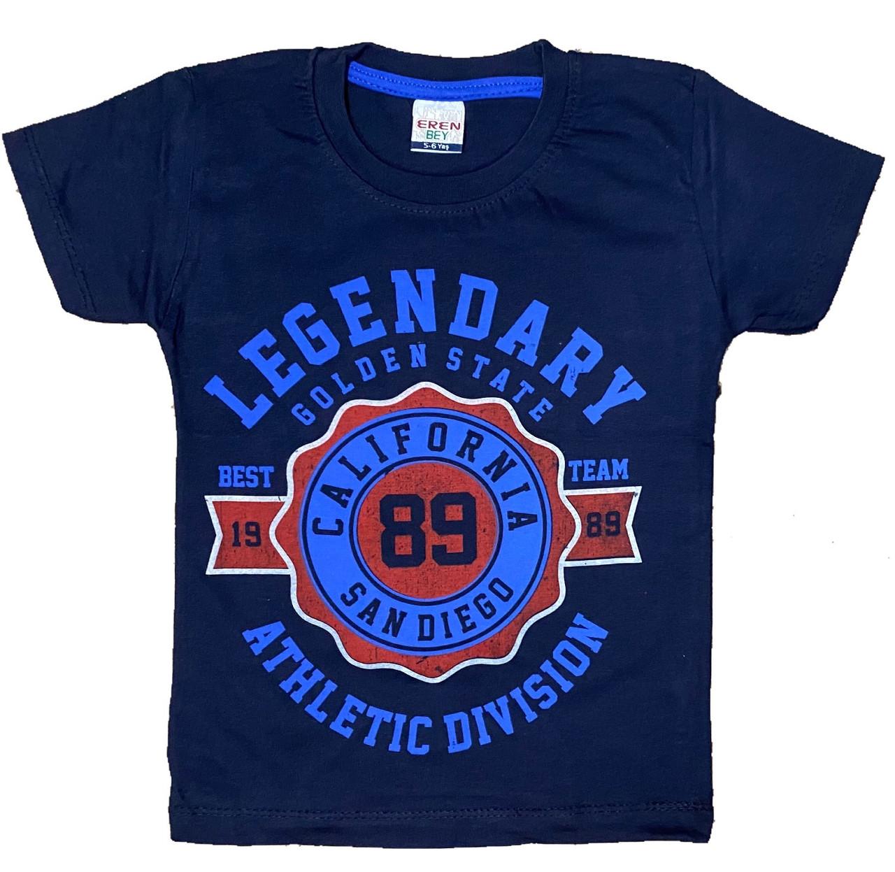 Дитяча футболка для хлопчика, 110см