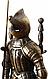 Каминный набор  Рыцарь золотой, фото 4