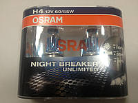 Лампа Osram H4 12v-60-55w Nightbreaker