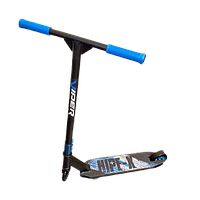 Трюковый самокат VIPER HIPE-Х + Пеги Синий. Самокат для трюков. Детский двухколесный трюковой