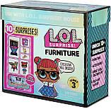 Ігровий набір Стильний інтер'єр з лялькою L. O. L. Surprise! Furniture 3 серія 570028 Клас Розумниці, фото 6