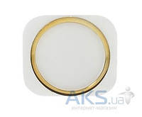 Кнопка Apple iPhone 5 возврата в главное меню (кнопка Home) Style iPhone 5S Gold
