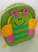 Маленький дитячий рюкзачок для малюків Baby Tilly тварини для дитячого садка, рюкзак метелик