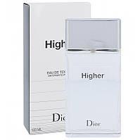Туалетная вода Dior Higher для мужчин (оригинал) - edt 100 ml
