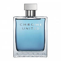 Туалетная вода Azzaro Chrome United для мужчин (оригинал) - edt 100 ml tester