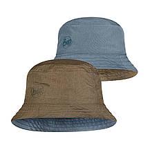 Панама Buff Travel Bucket Hat zadok blue olive Унисекс, S/M