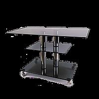 Стол журнальный стекло прямоугольный BRAVO Standart MX P8 ggg 2chr60