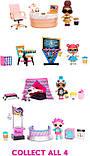 Кабінет Леді-бос Ігровий набір Стильний інтер'єр з лялькою L. O. L. Surprise! Furniture 3 серія 570042, фото 6
