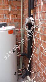 Солнечные коллектора для нагрева бассейна, отопление (частично) и ГВС. 3