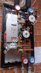 Солнечные коллектора для нагрева бассейна, отопление (частично) и ГВС. 5