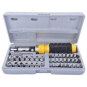 Набор инструментов 41 предмет Piece Bit Socket Set