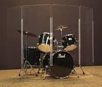 Звуковой экран для барабанов