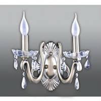 Бра настенный свеча (светильник бра свеча) бронзовая 2*E27,Buko