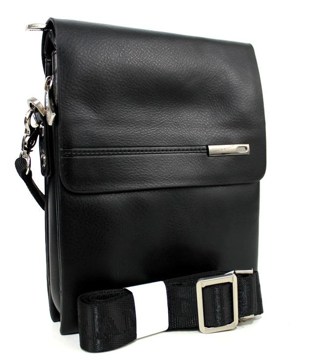 Черная сумка-планшетка для мужчин из искусственной кожи YR 356-1