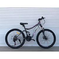 Подростковый двухподвесной велосипед 26 дюймов 17 рама Топ Райдер, фото 1