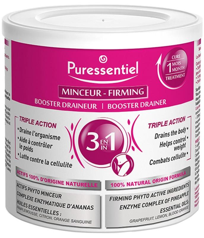 Пизещевая добавка для схуднення Puressentiel Minceur Booster Draineur 3en1 240 g