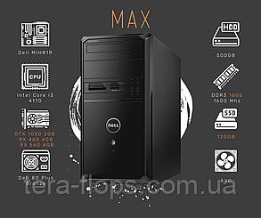 Игровой ПК Dell Vostro MAX (GTX 1050 - RX 560 / Intel i3 / DDR3 16GB) / Гарантия / TeraFlops, фото 2