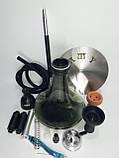 Кальян AMY.   Alpha Hookah   комплекте Калауд рифленый  и чаша сликоновая шланг софт тач, фото 7