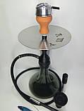 Кальян AMY.   Alpha Hookah   комплекте Калауд рифленый  и чаша сликоновая шланг софт тач, фото 4