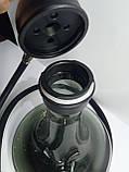 Кальян AMY.   Alpha Hookah   комплекте Калауд рифленый  и чаша сликоновая шланг софт тач, фото 3