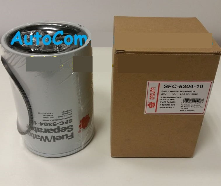 Фільтр паливний 331945-87000 Hyundai HD 65, HD 78 Хюндай Е3 (SFC-5304-10 Sakura)
