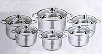 Набор кухонной посуды 12 предметов Edenberg EB-3731