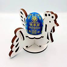 """Пасхальная подставка для яиц """"Курочка"""" 10×13см"""