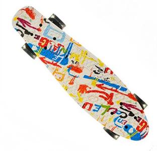 Скейтборд пенни борд со светящимися колесами, Скейт детский 7710