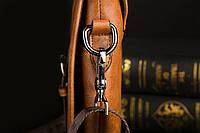 Мужская кожаная сумка Polo. Модель 0435, фото 4