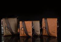 Мужская кожаная сумка Polo. Модель 0435, фото 7