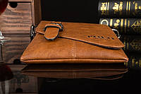 Мужская кожаная сумка Polo. Модель 0435, фото 10