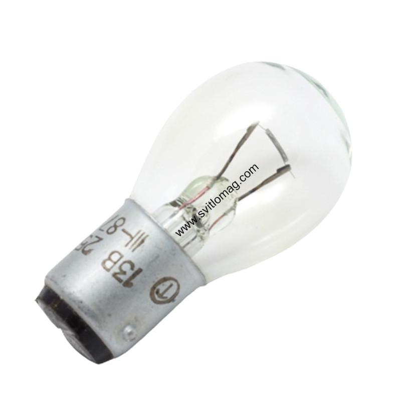 Лампа накаливания самолетная СМ 13-25 B15d/18