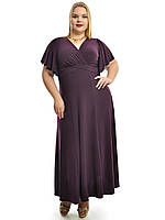 Платье в пол  Ольга,модель 685,размеры 48-62, фото 1