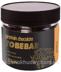 Протеиновый молочный шоколад «Иван-Поле» TOBEBAR  с Арахисом, без сахара (150 грамм)