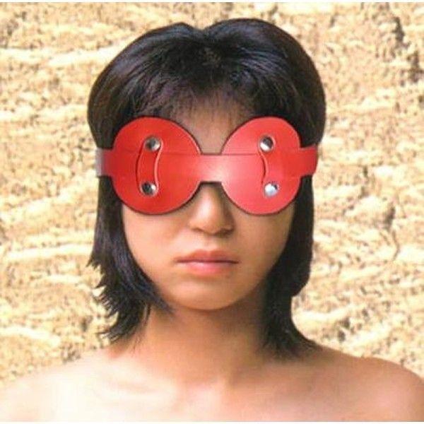 Червона маска для очей
